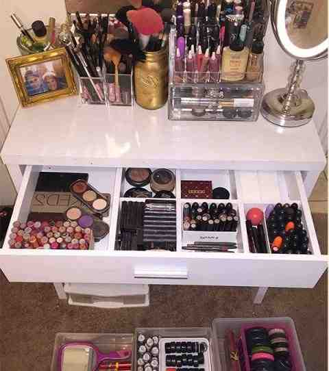 Comment organiser son espace maquillage ?