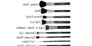 Comment utiliser des pinceaux de maquillage ?