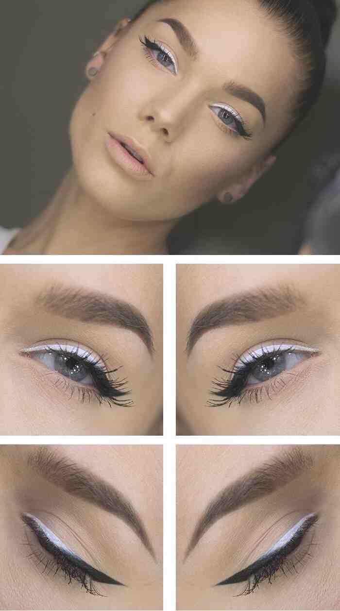 Comment utiliser eyeliner blanc ?